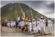 Hindu Ceremony at bromo